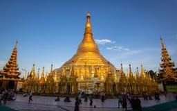 Pagoda de Shwedagon en Rangún, Myanmar Imagenes de archivo