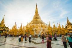 Pagoda de Shwedagon en Rangún, Myanmar Fotografía de archivo
