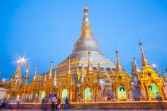 Pagoda de Shwedagon en Rangún, Myanmar Fotografía de archivo libre de regalías