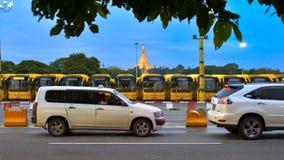 Pagoda de Shwedagon, Yangon photographie stock libre de droits