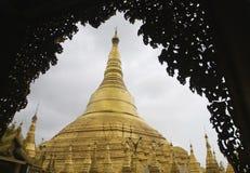 Pagoda de Shwedagon, Yangon Image libre de droits