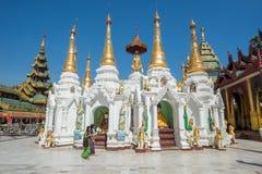 Pagoda de Shwedagon, Yangon Fotografía de archivo libre de regalías