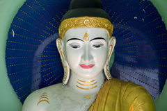 Pagoda de Shwedagon, Yangon Imagenes de archivo