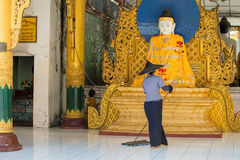Pagoda de Shwedagon, Yangon Imagen de archivo