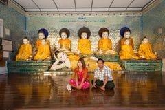 Pagoda de Shwedagon, Yangon Fotos de archivo libres de regalías