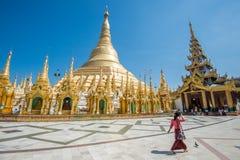 Pagoda de Shwedagon, Yangon Foto de archivo
