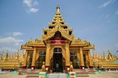 Pagoda de Shwemawdaw chez Bago, Myanmar Photographie stock libre de droits