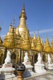Pagoda de Shwesandaw image stock
