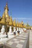 Pagoda de Shwesandaw photo libre de droits