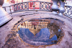 Pagoda de Shwezigon Images stock