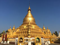 Pagoda de Shwezigon Images stock