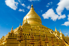 Pagoda de Shwezigon image stock