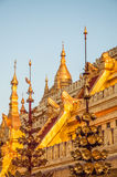 Pagoda de Shwezigon image libre de droits