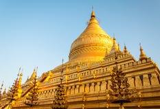 Pagoda de Shwezigon Photos stock