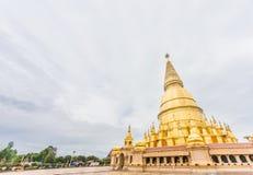 Pagoda de Sriwiengchai chez Wat Phra Bat Huai Tom photographie stock libre de droits