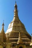Pagoda de Sule, Yangon, Myanmar Imagens de Stock Royalty Free