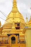 Pagoda de Sule, Yangon, Myanmar Imagen de archivo libre de regalías