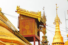 Pagoda de Sule, Yangon, Myanmar Fotografía de archivo
