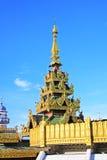 Pagoda de Sule, Yangon, Myanmar Imágenes de archivo libres de regalías
