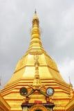 Pagoda de Sule, Yangon, Myanmar Imagens de Stock