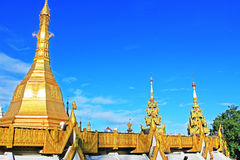 Pagoda de Sule, Yangon, Myanmar Fotografia de Stock