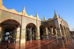 Pagoda de Sutaungpyei de colline de Mandalay Photos libres de droits