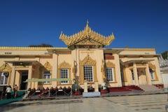 Pagoda de Sutaungpyei de la colina de Mandalay Foto de archivo libre de regalías