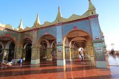 Pagoda de Sutaungpyei en la colina Birmania de Mandalay Foto de archivo libre de regalías