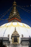Pagoda de Swayambhu, Nepal imagem de stock royalty free