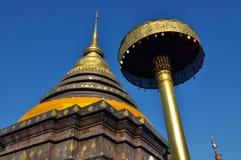 Pagoda de Tailandia Foto de archivo libre de regalías