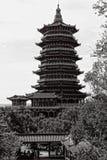 Pagoda de Taoist Photographie stock