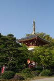 Pagoda de temple bouddhiste photo stock