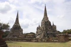 Pagoda de temple de Monkonbapit Photographie stock