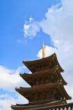 Pagoda de temple de Neungsa en Corée Image stock