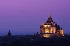 Pagoda de Thatbyinnyu photographie stock