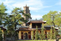 Pagoda de Thien MU Foto de archivo libre de regalías