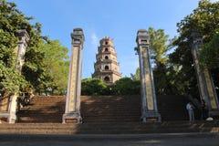 Pagoda de Thien MU Foto de archivo