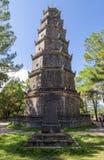 Pagoda de Thien MU, ciudad de la tonalidad, Vietnam Fotografía de archivo