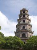 Pagoda de Thien MU dans la ville de tonalité, Vietnam Photo libre de droits