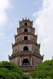 Pagoda de Thien MU na cidade da matiz, Vietnam Imagem de Stock Royalty Free