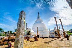 Pagoda de Thuparamaya image libre de droits