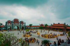 Pagoda de Vang de los vagos Imágenes de archivo libres de regalías