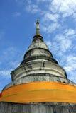 Pagoda de Wat Phra Singh imágenes de archivo libres de regalías