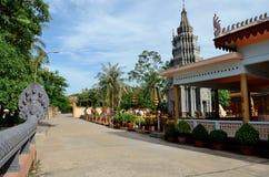 Pagoda de Wat Preah Prom Rath fotos de archivo