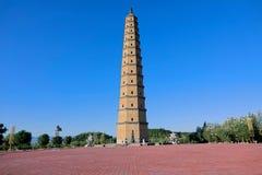 Pagoda de Wenfeng image stock
