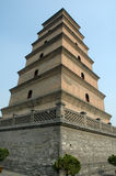 Pagoda de Xian dans Xian Chine Photo stock
