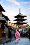 Pagoda de Yasaka Photo libre de droits