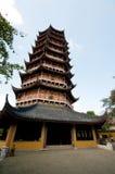 Pagoda de zen à Suzhou photographie stock