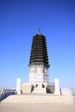 Pagoda del ½ del ¿ del ï del ½ del ¿ del ï della costruzione del punto scenico Fotografia Stock