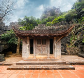 Pagoda del buddista di Bich Ninh Binh, Vietnam Fotografia Stock